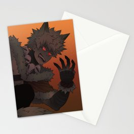Werewolf Bakugou Stationery Cards