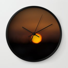 Sunset Algarve Wall Clock