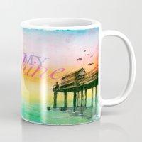 you are my sunshine Mugs featuring Sunshine by Jacob Thomas