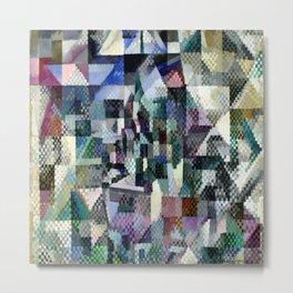 "Robert Delaunay ""Windows on the City No. 3"" Metal Print"