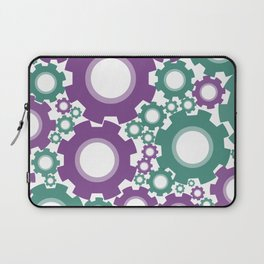 A Cog design in modern colours Laptop Sleeve