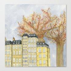 Where Do You Live Canvas Print