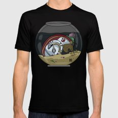 Snail Slimes the Rebel Alliance Black MEDIUM Mens Fitted Tee