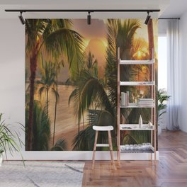 Kauai Tropical Island by OLena Art Wall Mural