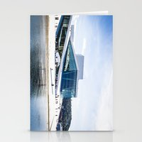 oslo Stationery Cards featuring Oslo - Opera by Linéa Lønhøiden