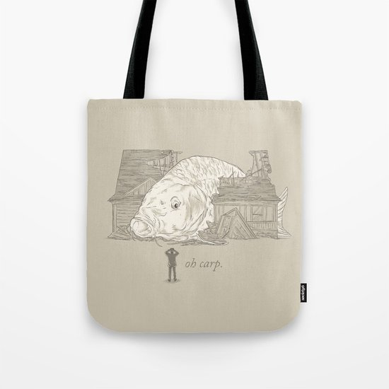 Oh carp. Tote Bag