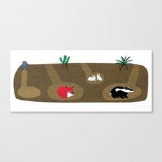 Burrow Full House Canvas Print