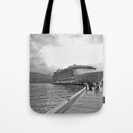 Vacation Transportation Tote Bag