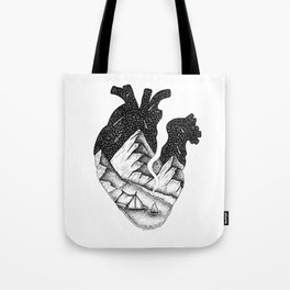 In my heart Tote Bag