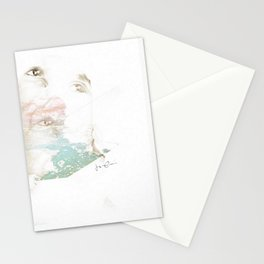 """""""uncomfortably numb"""" Stationery Cards"""