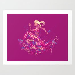 RunRunRun Art Print