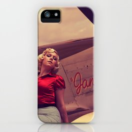 Janie iPhone Case