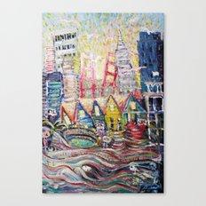 SF Glance Canvas Print