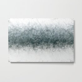 Vector Snow Metal Print