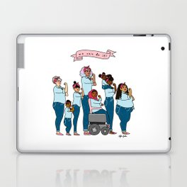 Intersectional Rosie the Riveter Laptop & iPad Skin