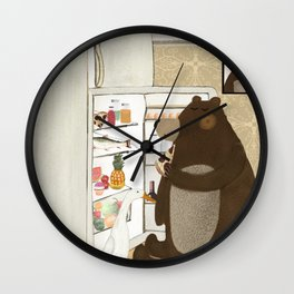 snack time Wall Clock