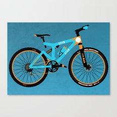 Mountain Bike Canvas Print