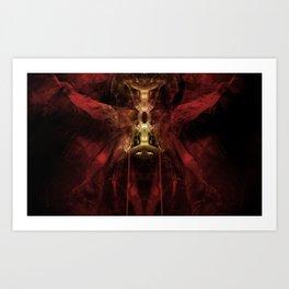 Thanatos: Prelude IV, fragment Art Print