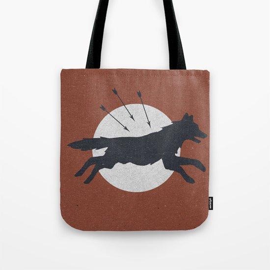 Wolf & Arrow Tote Bag