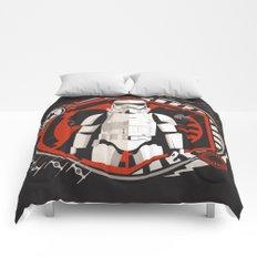 Dark Reflection Comforters