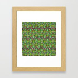 Abstract feathers 1c Framed Art Print