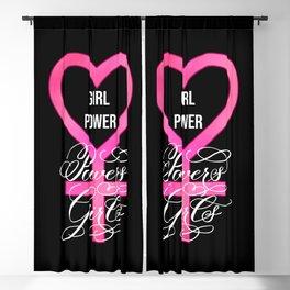 Girl Power Powers Girls (Dark) Blackout Curtain