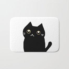 Black cat 589 Bath Mat