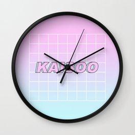 KAI SOO #1 Wall Clock