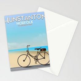 Hunstanton Norfolk travel poster. Stationery Cards