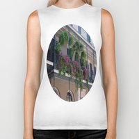 new orleans Biker Tanks featuring New Orleans Florals by Brown Eyed Lady