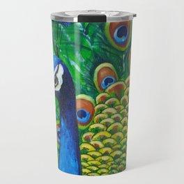 On Display - Peacock Travel Mug