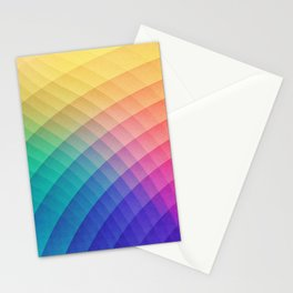 Spectrum Bomb! Fruity Fresh (HDR Rainbow Colorful Experimental Pattern) Stationery Cards