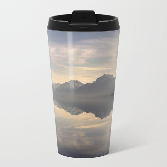 Landscape Reflections #mountain Metal Travel Mug