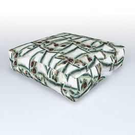 Bag on Outdoor Floor Cushion