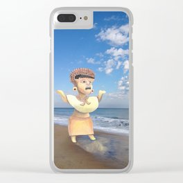 You Never Know When a Goddess Will Show Up Clear iPhone Case