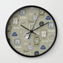 Time Waits or No One Wall Clock