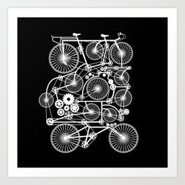 Ultrabike Art Print