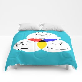 Charlie Brown, colour wheel Comforters