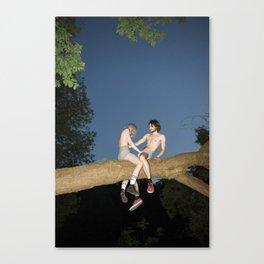 Love Theme Canvas Print
