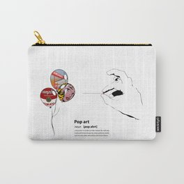 POP ART DICTIONARY Carry-All Pouch