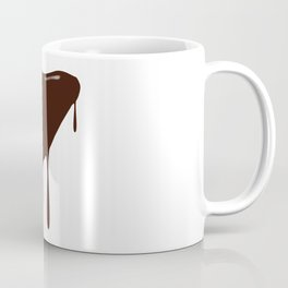 Melting Chocolate Heart Coffee Mug