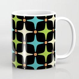 Mid Century Modern Star Pattern 580 Coffee Mug