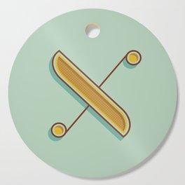 Alphabet Drop Caps Series- X Cutting Board