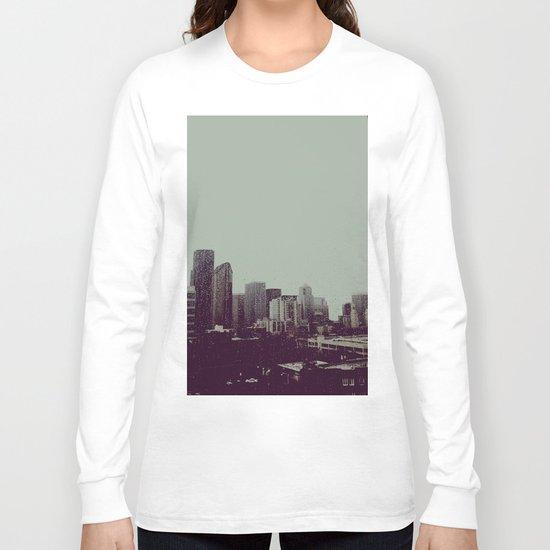 Sleepy Seattle Long Sleeve T-shirt