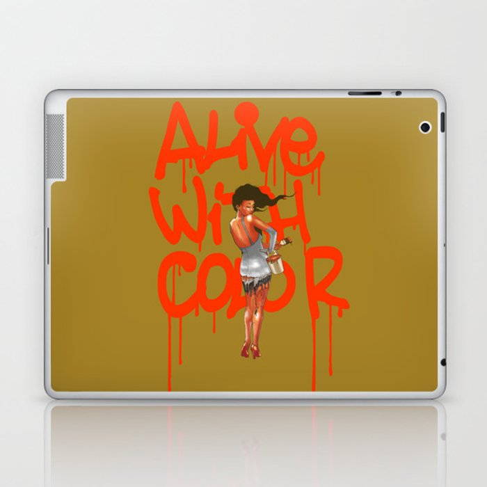 Alive with Color Laptop & iPad Skin