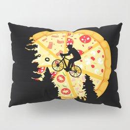 Pizza Moon Pillow Sham