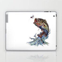 Bass Fish Laptop & iPad Skin