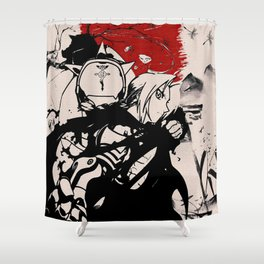 Fullmetal Alchemist - Roy & Riza Shower Curtain