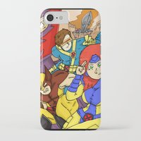 x men iPhone & iPod Cases featuring X-Men by Demonology7789