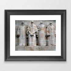 See the Truth Framed Art Print